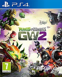 Plants vs Zombies: Garden Warfare 2 PlayStation 4 Cover Art