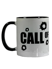 Call Of Du-Tea Two-Tone Black & White Mug Home - Tableware