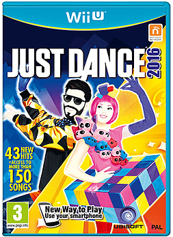 Just Dance 2016 Wii U Cover Art