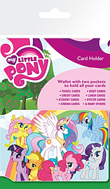 My Little Pony MLP Card Holder 10x7cm Traditional Games