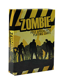 Zombie Post Apocalypse White Playing Cards Traditional Games