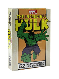 The Incredible Hulk Grey Playing Cards Traditional Games