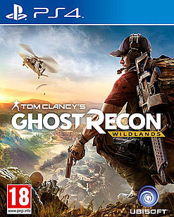 Tom Clancy's Ghost Recon: Wildlands PlayStation 4 Cover Art