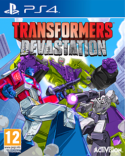 Transformers Devastation Exclusive Edition - Only at GAME PlayStation 4