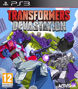 Transformers Devastation Exclusive Edition PlayStation 3