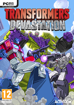 Transformers Devastation Exclusive Edition PC Games Cover Art