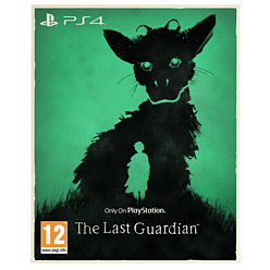 The Last Guardian PlayStation 4 Cover Art
