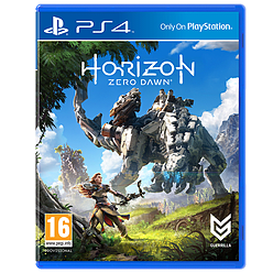 Horizon Zero Dawn PlayStation 4 Cover Art