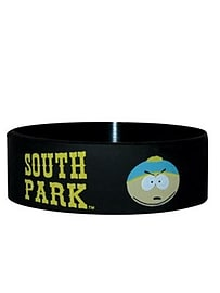 South Park Characters Rubber Black Wristband Clothing