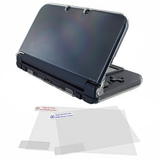 ZedLabz case & screen protector kit for -new- 3DS XL (New 2015 model) polycarbonate hard cover clear 3DS