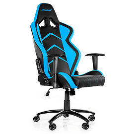 AK RACING PLAYER GAMING CHAIR - BLACK / BLUE Multi Format and Universal