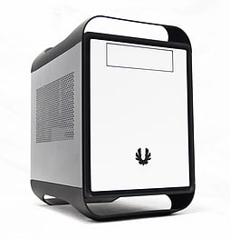 BITFENIX PRODIGY 'YANG' MINI-ITX CUBE CASE - BLACK/WHITE PC