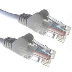 40m Cat5e UTP Network RJ45 Ethernet LAN Patch Lead Grey PC