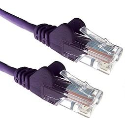 5m Cat5e UTP Network Rj45 Ethernet LAN Patch Lead Purple PC