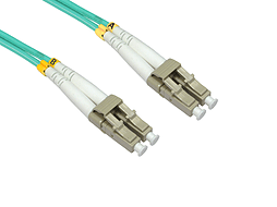 10m LC to LC OM4 Fibre Optic Network Patch Cable PC