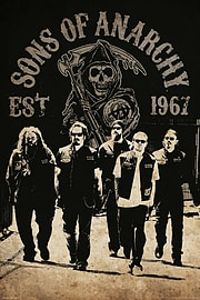 Sons of Anarchy Reaper Crew SoA Poster 61x91.5cm Posters
