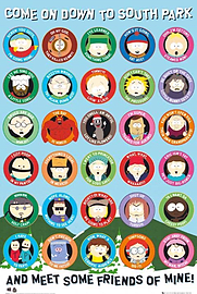South Park Come On Down Poster 61x91.5cm Posters