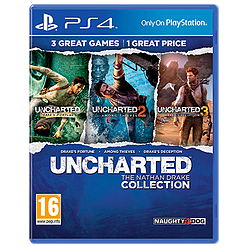 Uncharted: The Nathan Drake Collection PlayStation 4 Cover Art