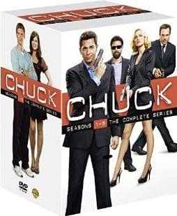 Chuck: The Complete Seasons 1 - 5 DVD