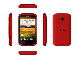 Grade A Refurbished HTC DESIRE C with Beats Audio RED SMARTPHONE SIM FREE; Unlocked Phones
