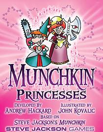Munchkin Princesses Display Traditional Games