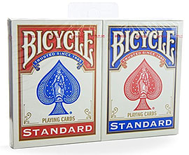 Bicycle 2 Pack Standard Index Traditional Games