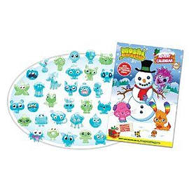 Moshi Monsters Advent Calendar Books