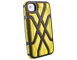 G-form Iphone 4 / 4s X-protect Case, Black Shell / Yellow Rpt Mobile phones