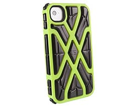 G-form Iphone 4 / 4s X-protect Case, Green Case/black Rpt Mobile phones
