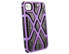 G-form Iphone 4 / 4s X-protect Case, Purple Case/black Rpt Mobile phones