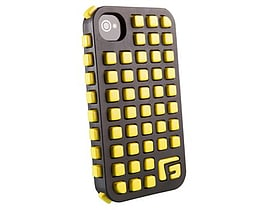 G-form Iphone 4 / 4s Extreme Grid Case, Black Case/yellow Rpt Mobile phones
