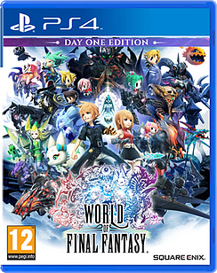 World of Final Fantasy PlayStation 4 Cover Art