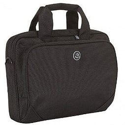 Tech Air 1202 Toploading Modern Classic Laptop Bag for 15 to 15.6 inch Laptops - Black PC
