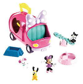 Minnie Mouse Precious Pets Tour Van Pre School Toys