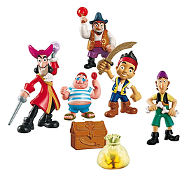 Jake and The Neverland Pirates Deluxe Adventure Figure Pack Pre School Toys