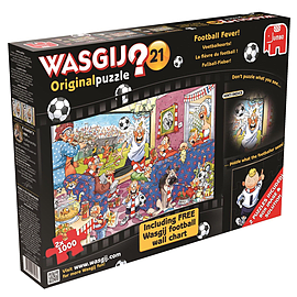 Wasgij Original 21 2x Football Fever Traditional Games