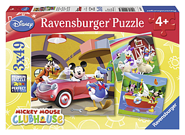 Mickey Mouse Clubhouse (3x49 pieces) Traditional Games