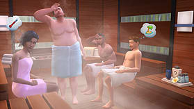 The Sims 4 Spa Day Game Pack screen shot 1