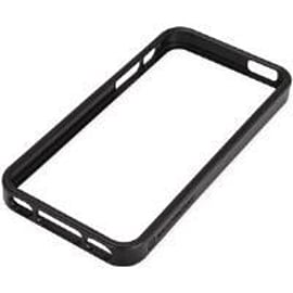 Scosche bandEDGE Polycarbonate and Rubber Edge Case (Black) for iPhone 5/5S Mobile phones