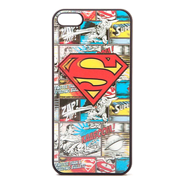 Dc Comics Superman Iphone 5 Comic Artwork Cover With 4d Effect, Black (ph0mdhspm) Mobile phones