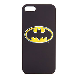DC Comics Batman iPhone 5 Cover with Classic Logo, Black Mobile phones