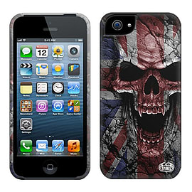 Spiral Union Wrath Mobile Phone Case for Apple iPhone 5 / 5S, Black Mobile phones