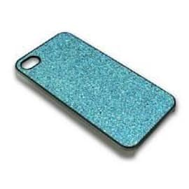 Sandberg Cover Glittering Case (Blue) for iPhone 4/4S Mobile phones