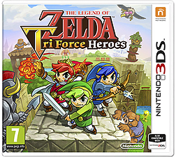 Legend of Zelda: Triforce Heroes 3DS