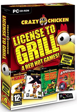 Crazy Chicken - Licensed to Grill PC