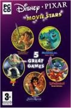 Disney Movie Stars 5 Pack (Toy Story 2, Tarzan, Lilo and Stitch, Aladdin, Monsters Inc) PC