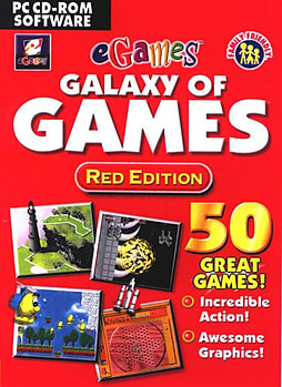 Galaxy Games Red Edition PC