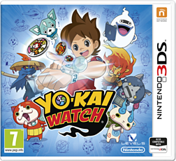 YO-KAI WATCH 3DS Cover Art