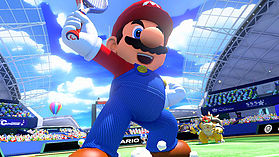 Mario Tennis Ultra Smash screen shot 1