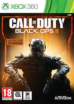 Call of Duty: Black Ops III Xbox 360 Cover Art